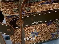 Vintage Hartmann Train Case Cosmetic Makeup Case Unique Custom Color