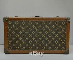 Vintage Louis Vuitton Train Case or Makeup Cosmetics Case Authentic