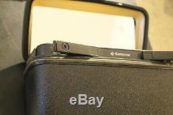 Vintage Samsonite Excel Hard Shell Train Case Make Up Case Luggage Black