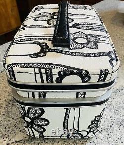 Vintage Samsonite Fashionaire Cosmetic Train Case Mid Century Luggage Suitcase