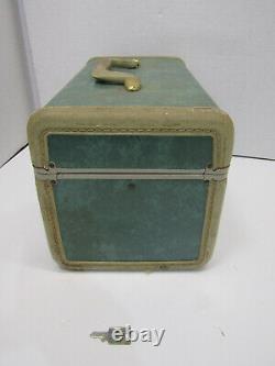 Vintage Samsonite Luggage Train Case Travel Bag Suitcase Cosmetic Tray Mirror