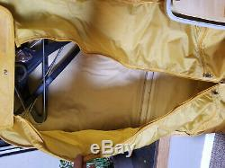Vintage Samsonite Profile Train Travel Makeup Suit Case SET OF 4 garment bag too