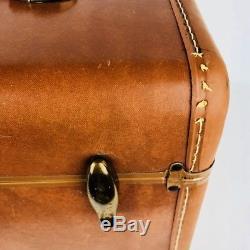 Vintage Samsonite Travel Train Makeup Case Shwayder Bros Luggage Steam MI446