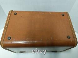 Vintage Samsonite USA 1940s Carry-on Vtg 50s Train Case Make-up