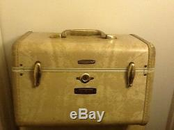 Vintage Samsonite suitcase train case cosmetic case Vintage suit case