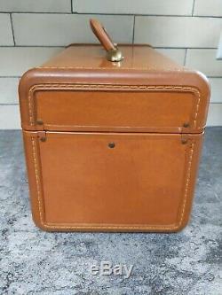 Vintage Streamlite SAMSONITE LUGGAGE Train Case Mirror Tray Makeup Carry On
