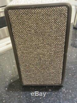 Vintage new Hartmann Tweed Leather Train Case Toiletries Cosmetics Travel Bag